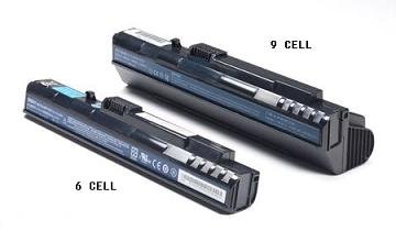 6 CELL 9 CELL DIFFERENCE BATTERY ACER ASPIRE ONE ZG5 A110 A150 AOA110 AOA150